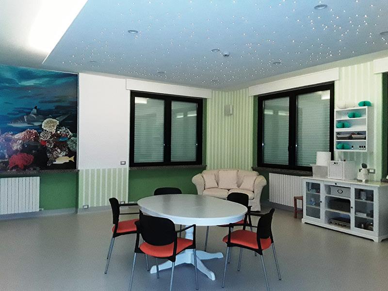 RSA Zogno - Struttura residenziale - Stanza multisensoriale